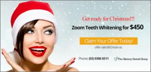 Zoom Teeth Whitening for $450 | Dentist Glenroy