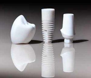 Zirconium Dental Implants